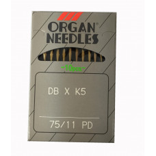 Organ Needles 75/11PD 10PC Titanium